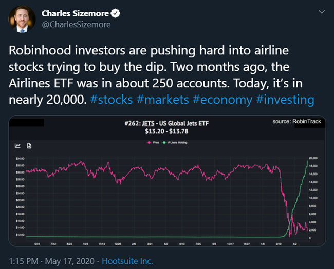 Tweet from @CharlesSizemore