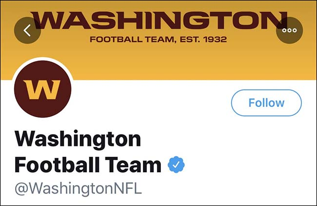 Washington Football Team