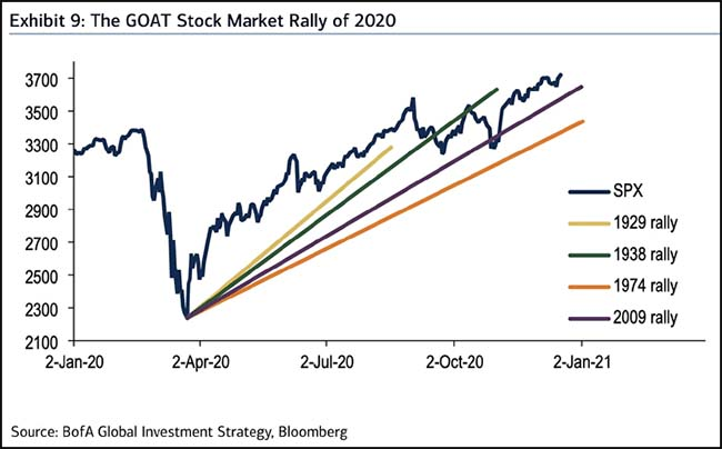 The GOAT Stock Market Rally of 2020