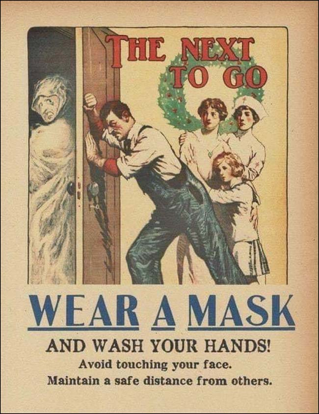 The Next to Go Wear a Mask poster