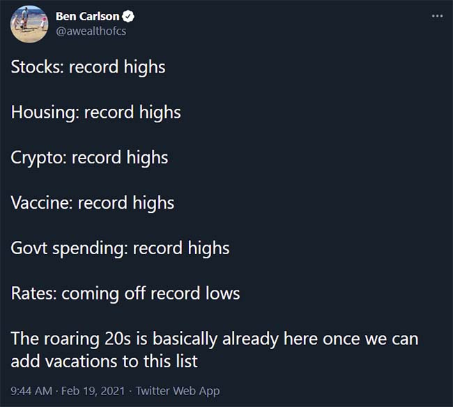 Tweet from @awealthofcs