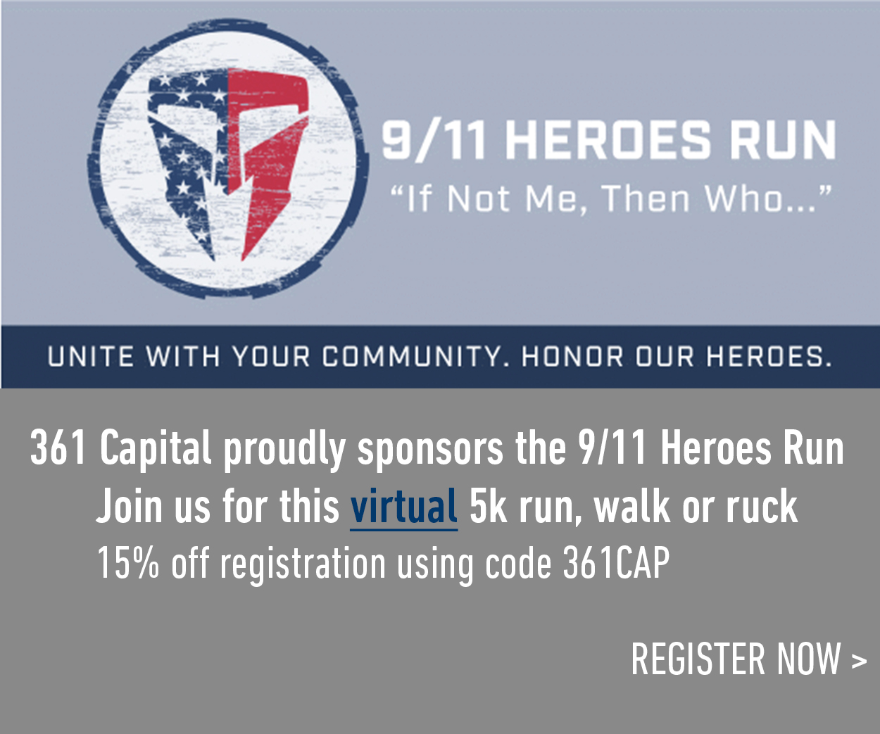 9/11 Heroes Run Denver Race Promo