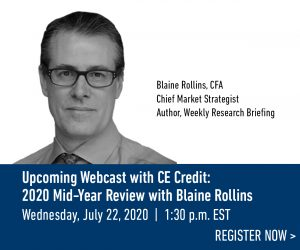 Webcast: 2020 Mid-Year Review with Blaine Rollins
