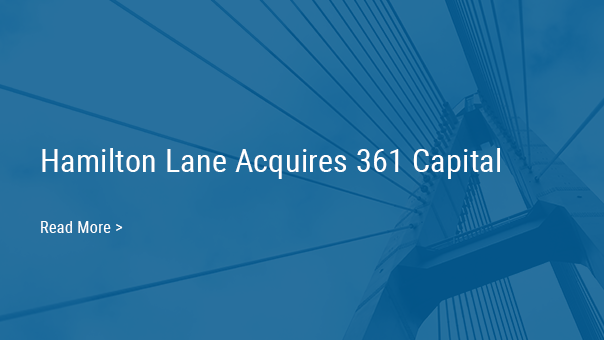 Hamilton Lane Acquires 361 Capital