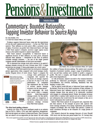 Commentary: Bounded Rationality: Tapping Investor Behavior to Source Alpha