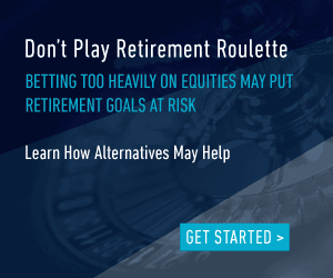 Betting too heavily on equities may put retirement goals at risk