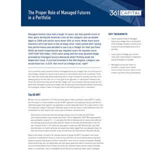 Thumbnail of article: The Proper Role of Managed Futures in a Portfolio