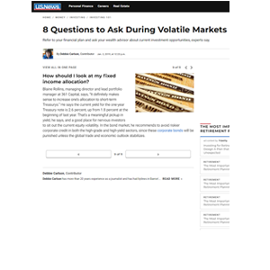 8 Questions to Ask During Volatile Markets
