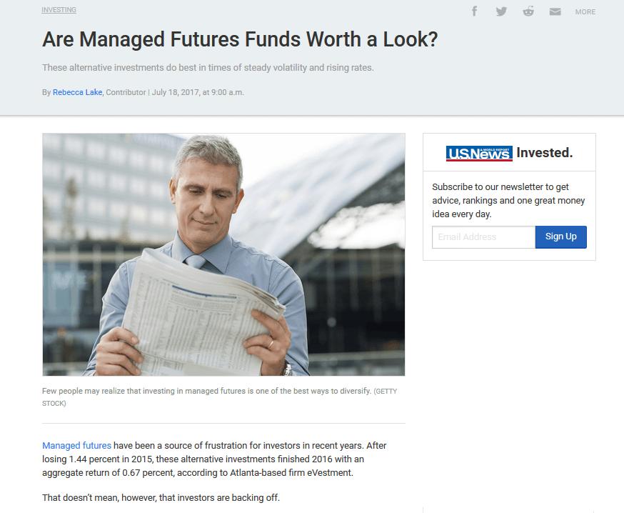 Are Managed Futures Funds Worth a Look?