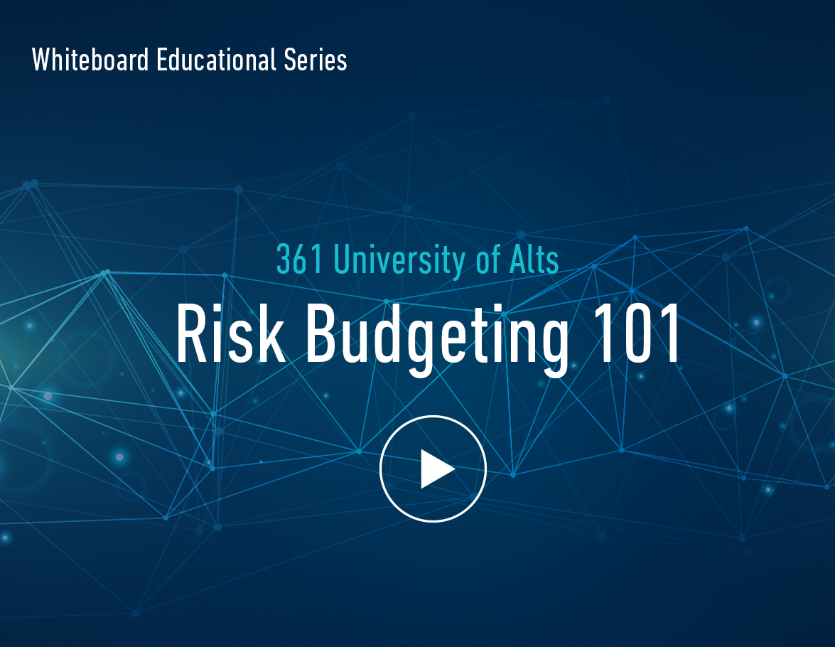 Risk Budgeting Video